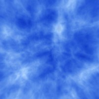 synthetic bluish skybox