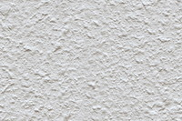 White roughcast wall