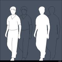 2D Person Male 00258se