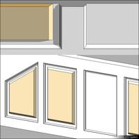 Wall Paneling Wood 00319se