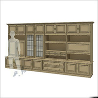 Wall Unit Rustic 01212se