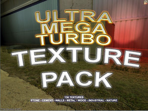 Ultra Mega-Turbo Texture Pack - 136 textures