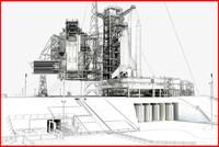 NASA Launch Complex 39 - Wire