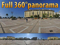 Ajaccio square - 360° panorama