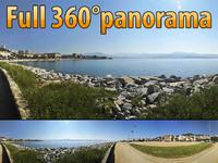 Ajaccio coast - 360 panorama