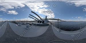 Battleship Deck HDR environment