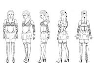 Blueprint of warrior Elyse