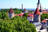 Medieval fortress of Tallinn