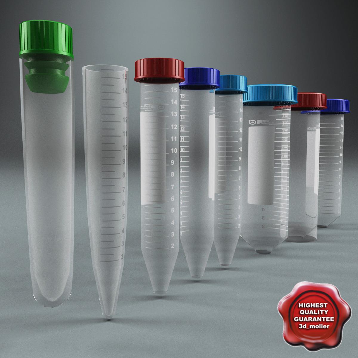 maya plastic vials