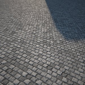 HQ Textures - Cobbled Walkway
