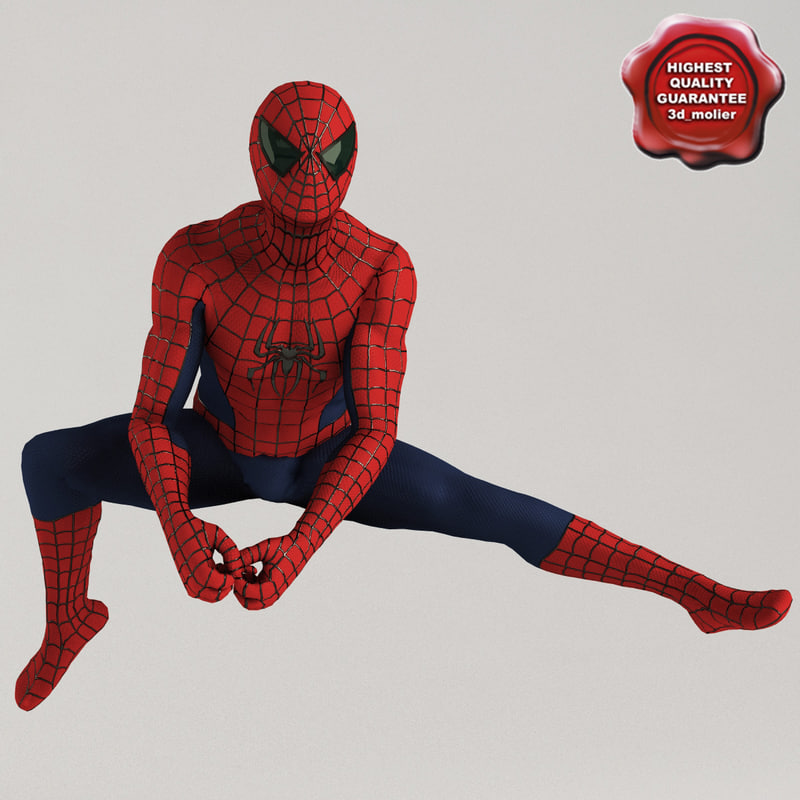 3d model spiderman 3
