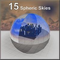 Skies (15 spheric skies)