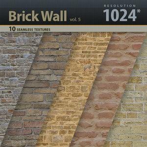 Brick Wall Textures vol.5