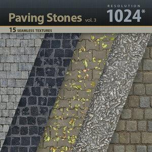 Paving Stones Textures vol.3
