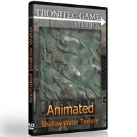 Animated Shallow Water Texture 9