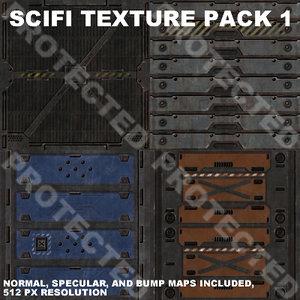 Scifi Texture Pack 1
