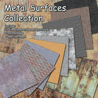 11 Metal Surfaces - Collection