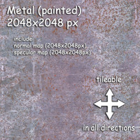 metal (11) rusty