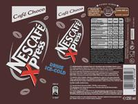 Nescafe Xpress Choco Label