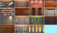 wall panel textures