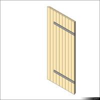Door Leaf Ledged 00261se