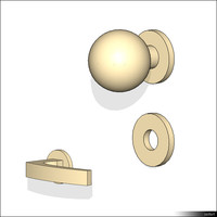 Hardware Door Handle Set 00315se