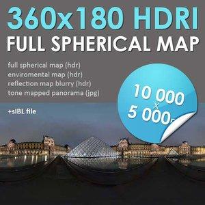 HDRI Map Paris [P045]