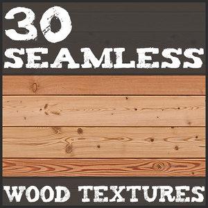 30 Seamless Wood Textures
