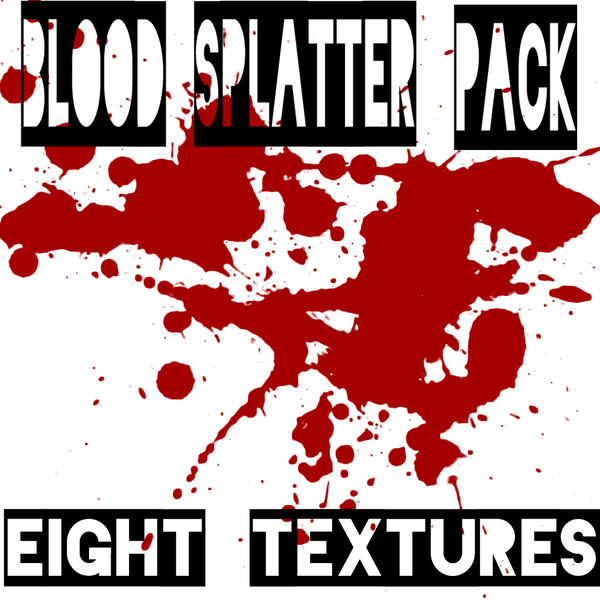 Texture Other Blood Texture Pack Blood splatter on a wall. blood splatter texture pack