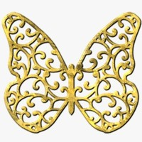 TXF Butterfly04 Gold