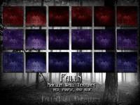 Falln Maeglin Wall Textures Red Purple Blue