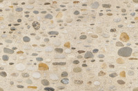 Pebble and sand wall texture