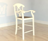 Napoleon Dining Chair with Arms