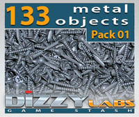DLMET Metal Objects Pack 01