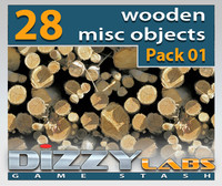 DLWOOD ArchitecturalParts Misc Pack 01