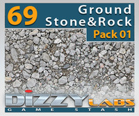 DLGND Ground Stone & Rock Pack 01