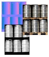 Barrels of Beer Texture