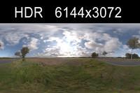 Road in field 3
