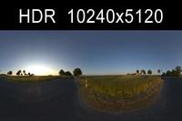 Road in Field 2 w/ Backplates