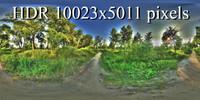 Landscape hdr 3D Texture
