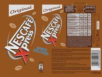 Nescafe Xpress Original Label