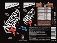 Nescafe xpress drink cans black roast