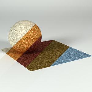 Porada Boucle Fabric Set