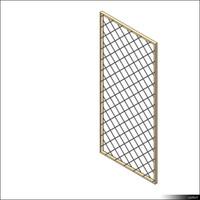 Door Leaf Grille 00264se
