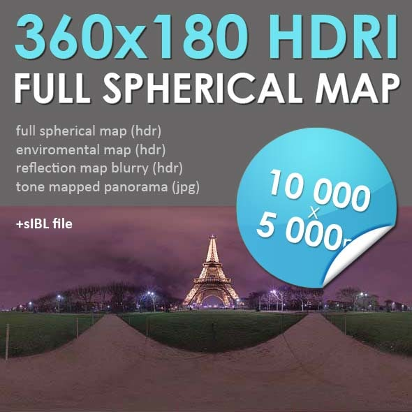 HDRI Map Paris [P047]