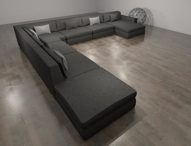 Sectional Sofa 1235