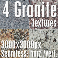 4 High Res Seamless Granite Textures Vol.02 Part4