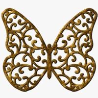 TXF Butterfly04 Copper