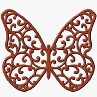 TXF Butterfly04 Rust