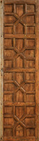 Old Paneled Door